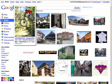 Neues Google Image Search